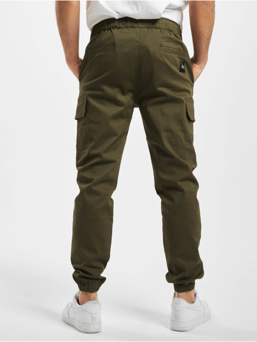 Sixth June Spodnie Chino/Cargo Strings khaki