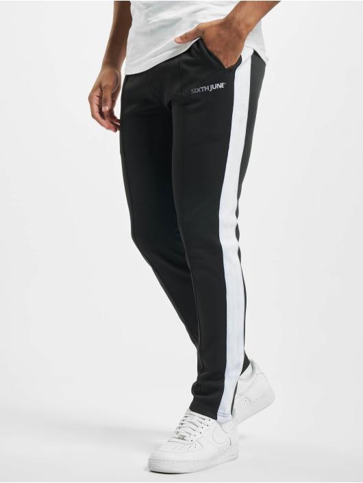 Sixth June Spodnie do joggingu Track czarny