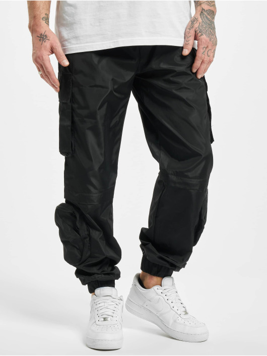 Sixth June Spodnie do joggingu Multiple Pocket Cargo czarny