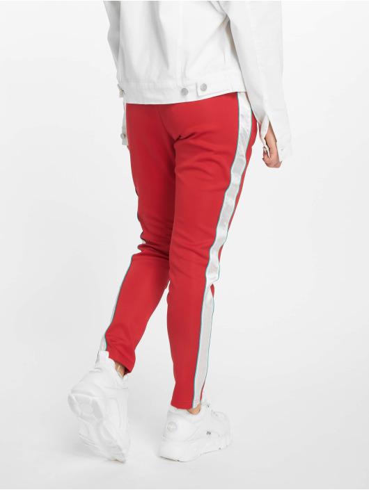 Sixth June Spodnie do joggingu Satin Band czerwony