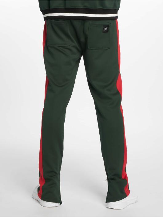 Sixth June Spodnie do joggingu Side Bands zielony