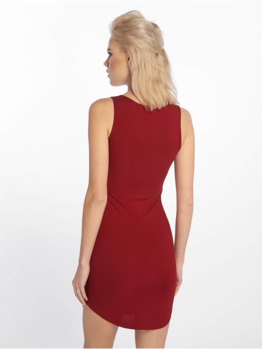 Sixth June Sukienki Rib czerwony