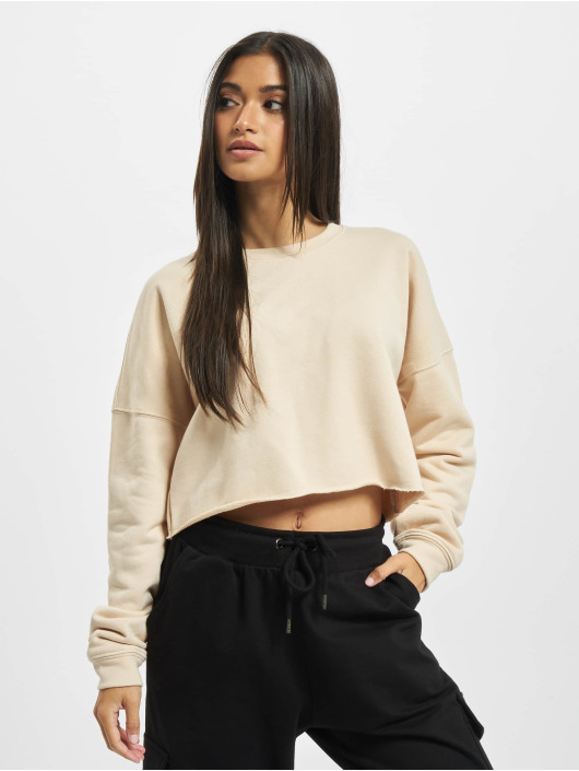 Sixth June Sweat & Pull Essential Crop beige