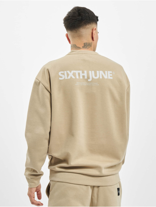 Sixth June Sweat & Pull Basic Logo beige