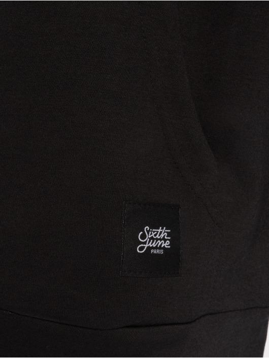Sixth June Sweat capuche Flag noir