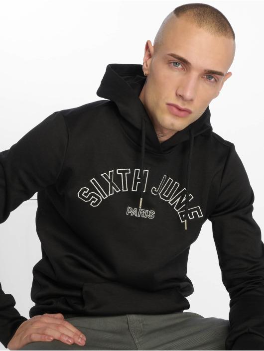 Sixth June Sweat capuche College noir