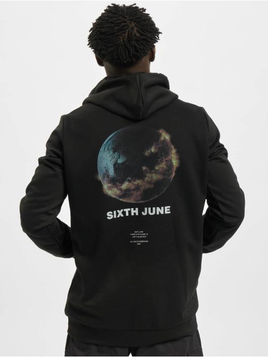 Sixth June Sweat capuche Earth noir