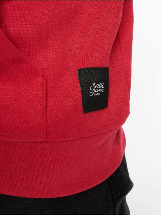 Sixth June Sweat capuche College rouge