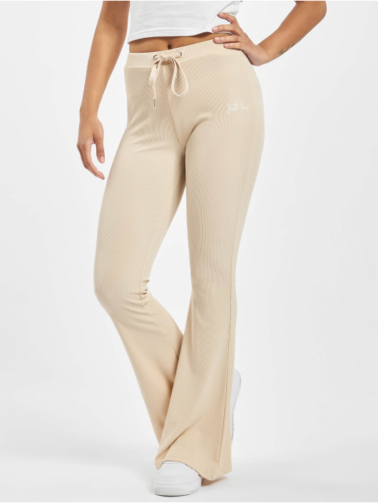 Sixth June Sweat Pant Ribbed beige