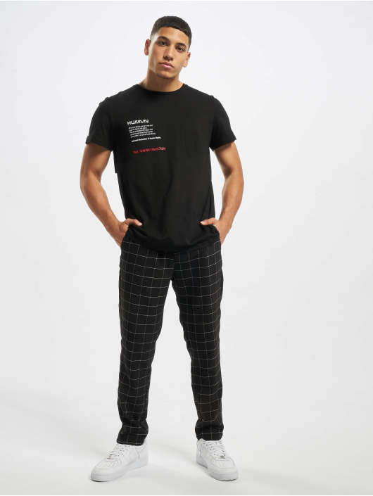 Sixth June Sweat Pant Square black