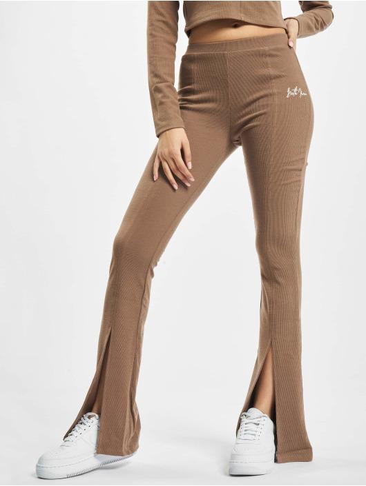 Sixth June Sweat Pant Ribbed V2 brown