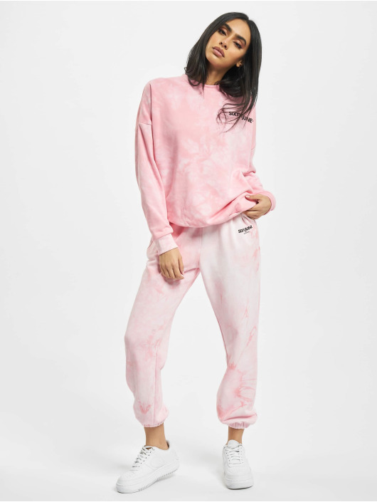 Sixth June Sweat Pant Tie Dye Jogging pink