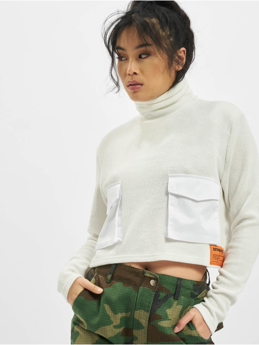 Sixth June Swetry Utility Knitwear bialy
