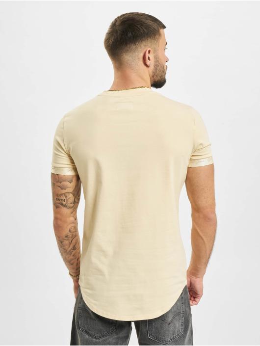 Sixth June T-paidat Signature Velvet Logo beige