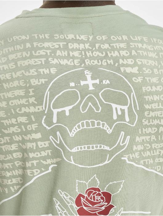 Sixth June T-paidat Skull vihreä