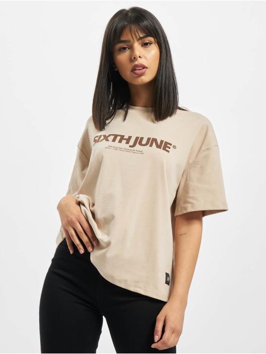 Sixth June T-Shirt Nude beige