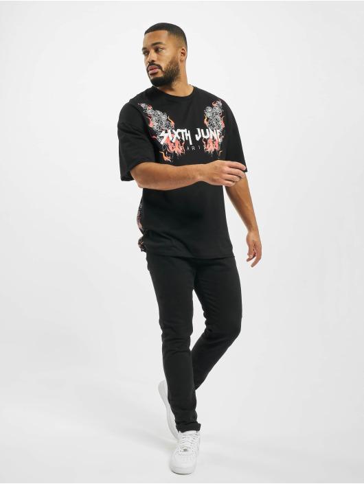 Sixth June T-Shirt Print black