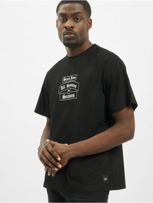 Sixth June T-Shirt Goth Season black