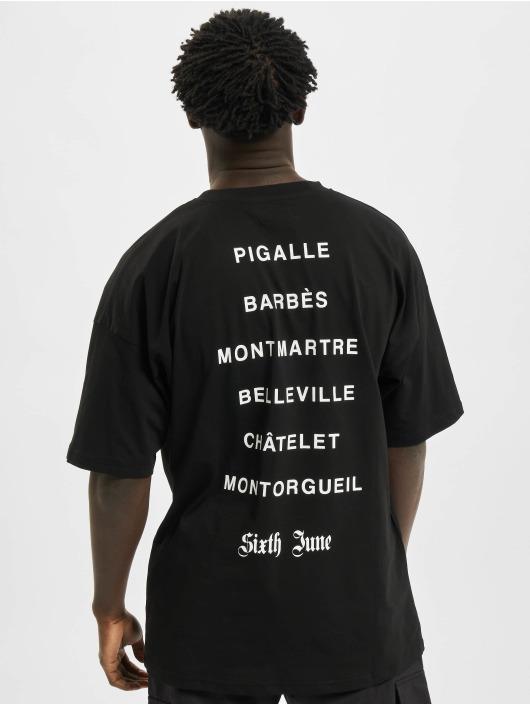 Sixth June T-Shirt District black