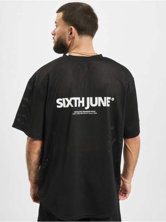 Sixth June T-Shirt Mesh black