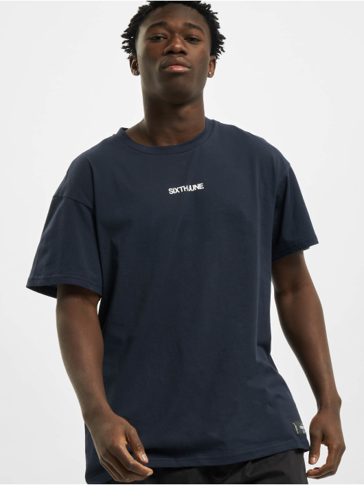 Sixth June T-Shirt Desert Road Ls blau