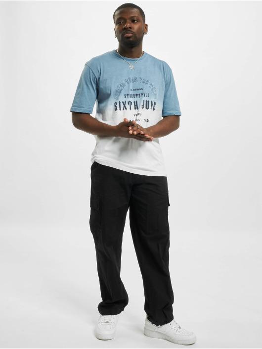 Sixth June T-Shirt Tie Dye Sooner blau