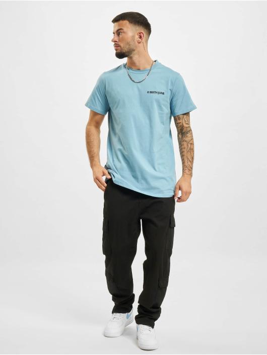 Sixth June T-Shirt Copyright blau