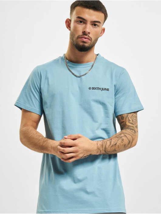 Sixth June t-shirt Copyright blauw
