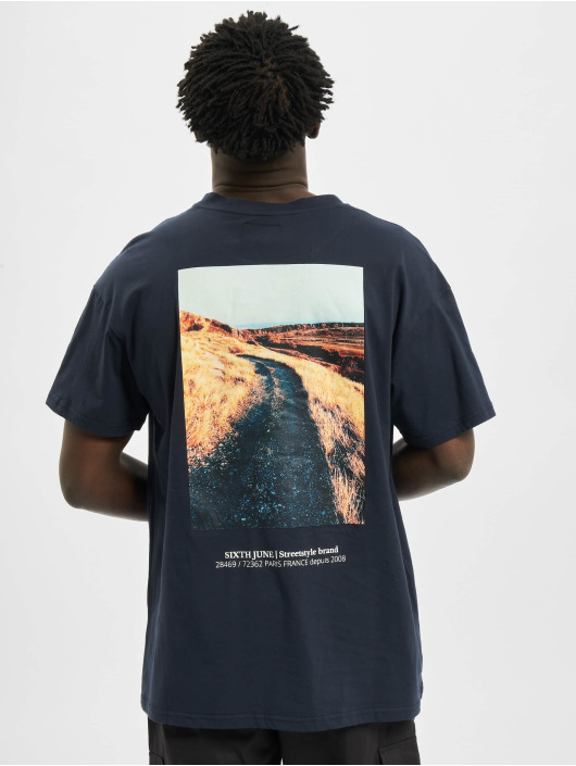 Sixth June T-Shirt Desert Road Ls bleu