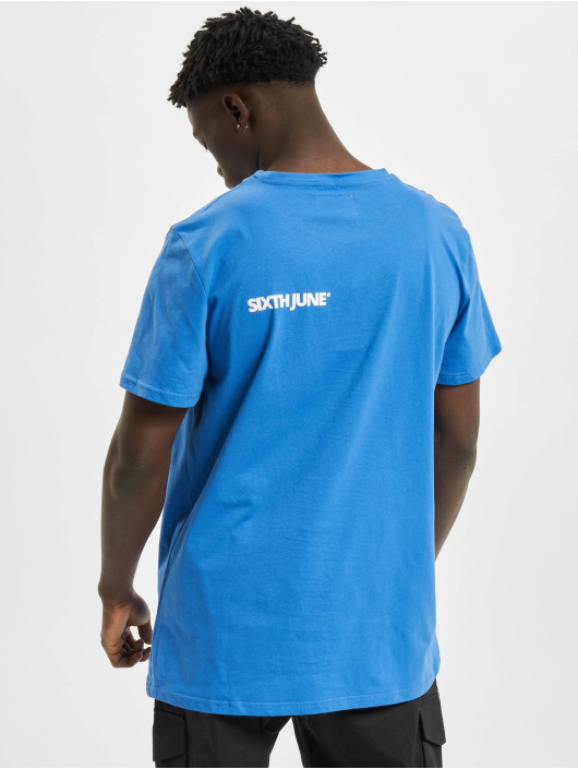 Sixth June T-Shirt Basic Logo bleu