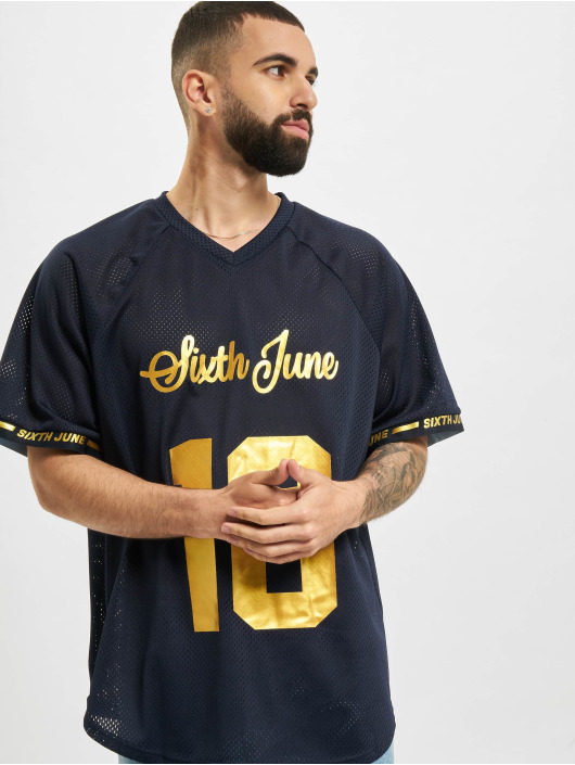 Sixth June T-Shirt Mesh Raglan bleu