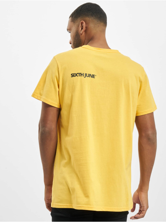 Sixth June T-shirt Two Front Side giallo