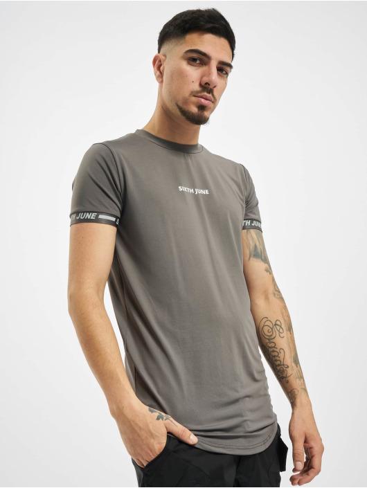 Sixth June T-Shirt Sport grau