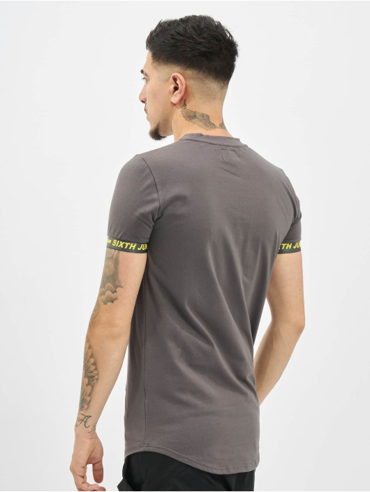 Sixth June T-Shirt Essential Sport grau