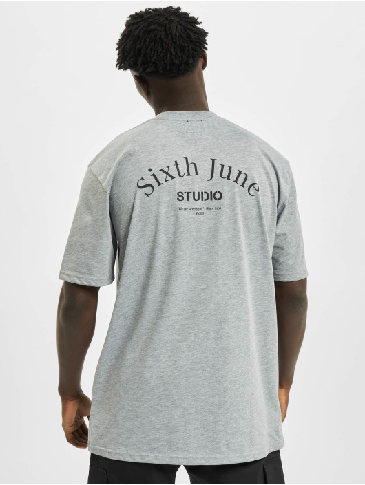 Sixth June T-Shirt Studio grau