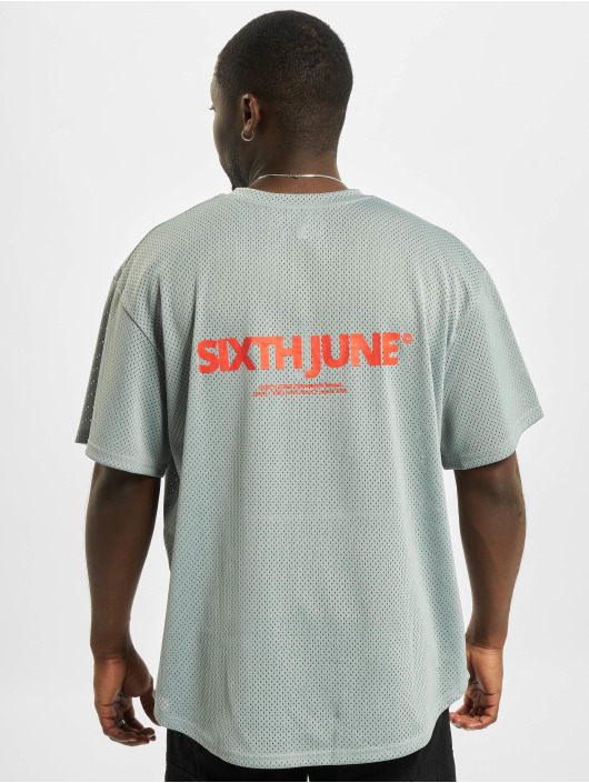 Sixth June T-Shirt Mesh grau
