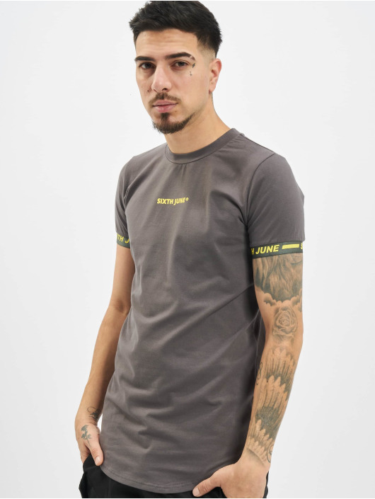 Sixth June T-Shirt Essential Sport gray