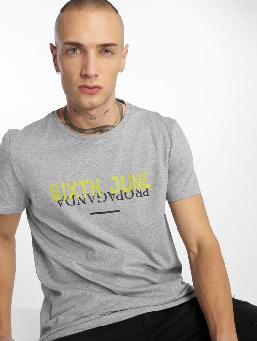 Sixth June T-Shirt Wyoming Propaganda grey