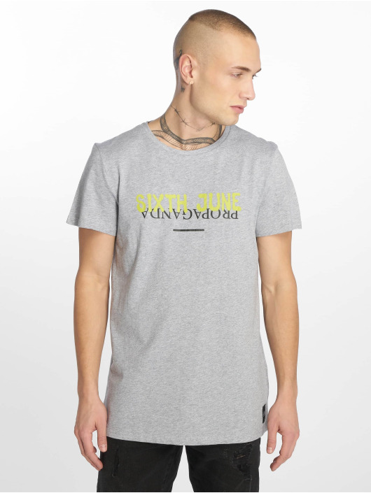 Sixth June T-Shirt Wyoming Propaganda gris