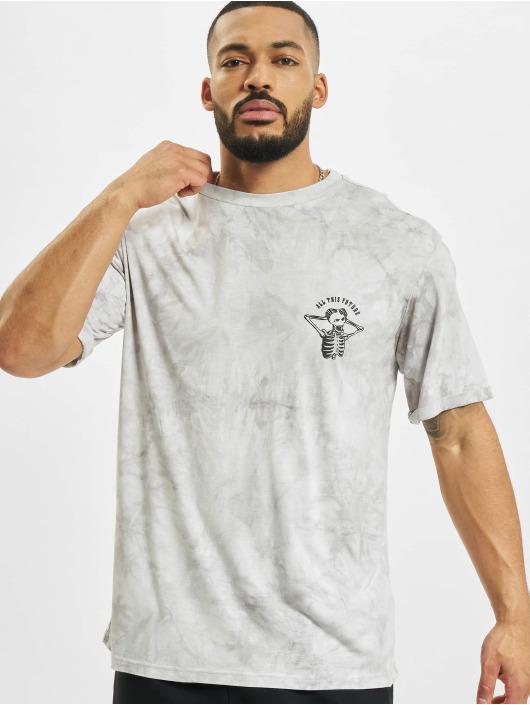 Sixth June T-Shirt Custom Tie Dye gris