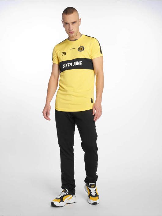 Sixth June T-Shirt Soccer jaune