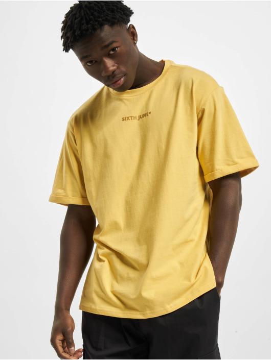 Sixth June T-Shirt Basic Logo jaune