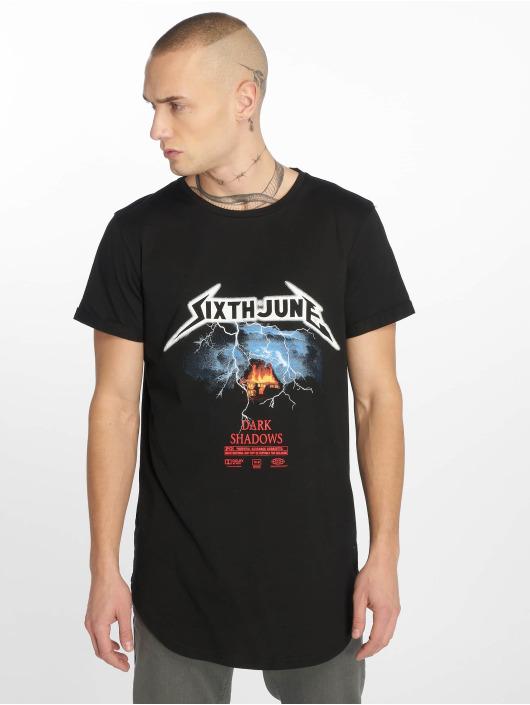 Sixth June T-Shirt Center Print Dark Shadow noir