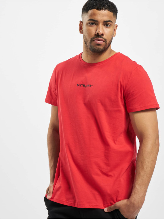 Sixth June T-Shirt Back Faded Bandana red