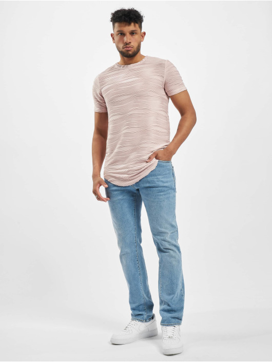 Sixth June T-Shirt Rounded Bottom Ma rose