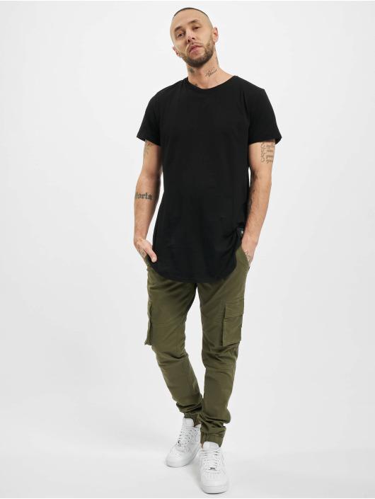 Sixth June T-Shirt Rounded Bottom schwarz