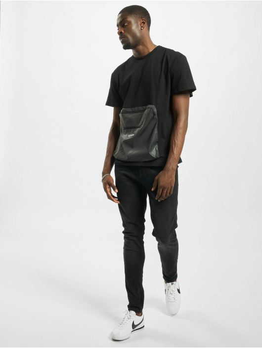 Sixth June T-Shirt Reflective Pocket schwarz