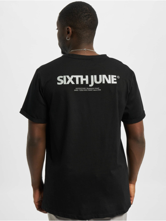Sixth June T-Shirt Reflective schwarz