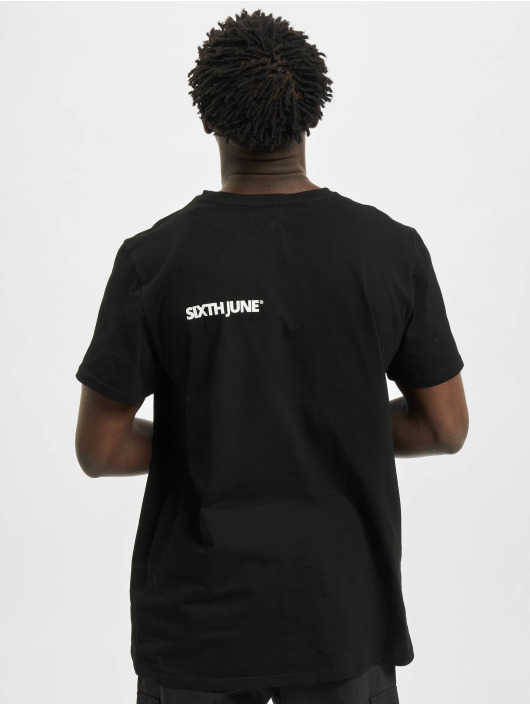 Sixth June T-Shirt Basic Logo schwarz