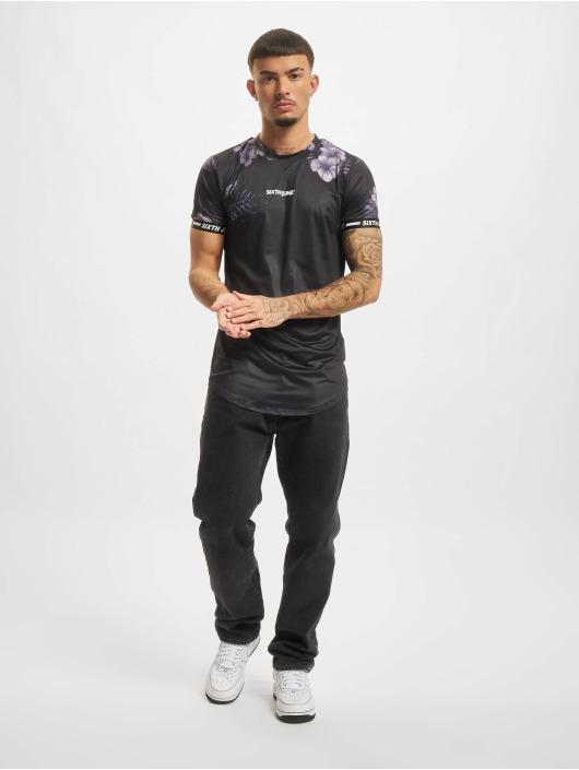 Sixth June T-Shirt Bw Palm Fit schwarz